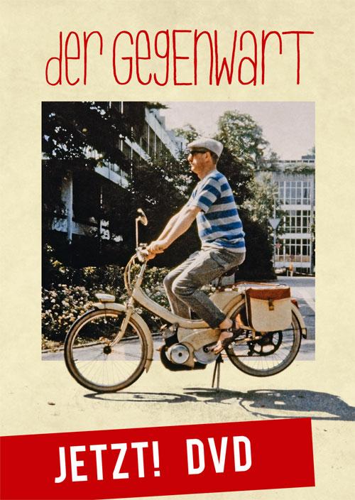 Postkarte DVD-Bestellung «Der Gegenwart»